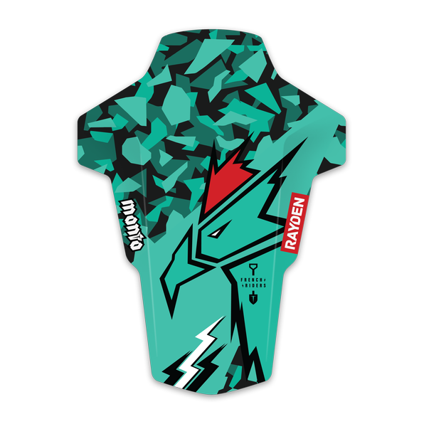 Coq-green-Manta-3D_HDCoq-red-Manta-3D_HD_mudguard_garde-boue