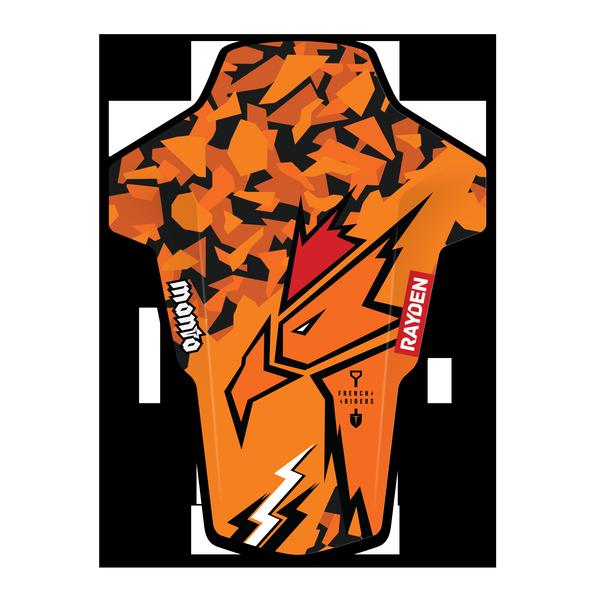 Coq-orange-Manta-3D_HD_mudguard_garde-boue