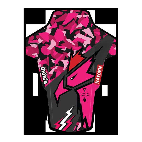 coq-pink-Manta-3D_HD_mudguard_garde-boue